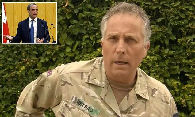 Head of the Armed Forces slaps down Dominic Raab