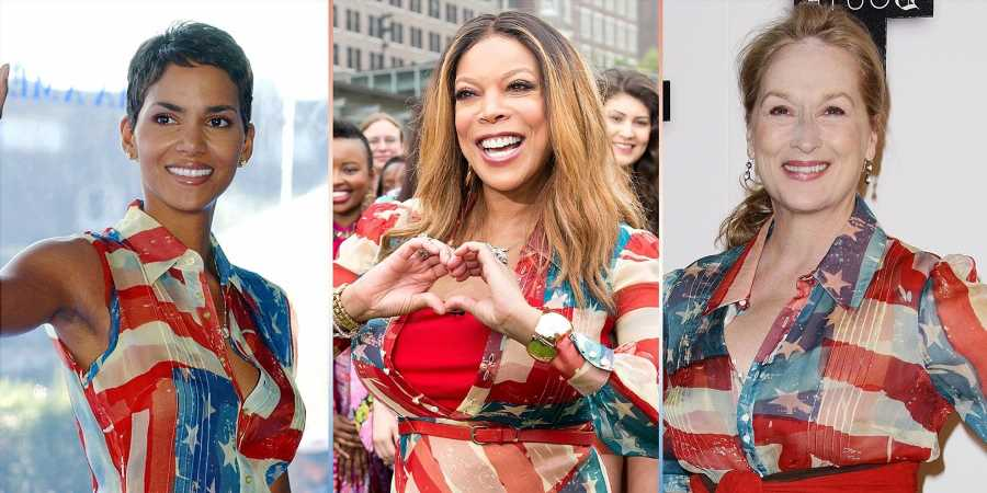 How One American Flag Dress Ruled Hollywood for 15 Years