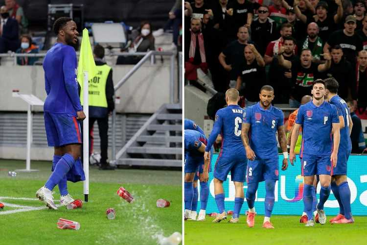 Hungarian FA vow to ban 'troublemakers' for two years but don't mention racism in statement after England clash