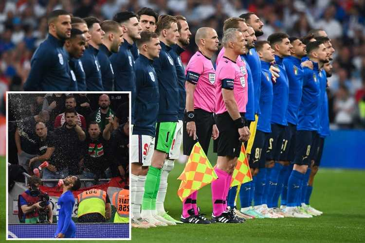 Hungary foreign minister says their fan racism is 'similar' to England supporters booing Italy's national anthem