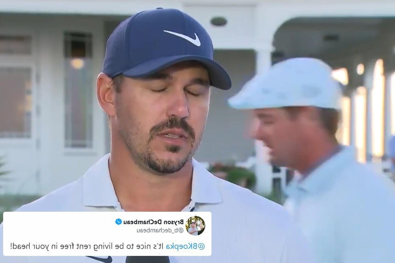 Inside the petty feud of Brooks Koepka and Bryson DeChambeau, from ab-shaming to complaints about fire-ants