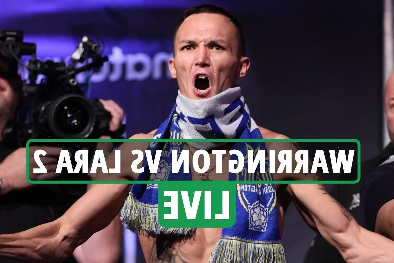 Josh Warrington vs Mauricio Lara 2 LIVE RESULTS: Main event UNDERWAY – stream, TV channel, undercard, ring walks