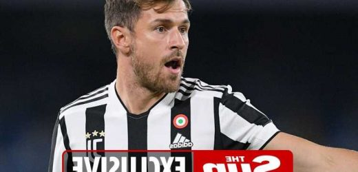 Juventus ready to sell Aaron Ramsey on FREE transfer in January with West Ham, Everton and Newcastle keen