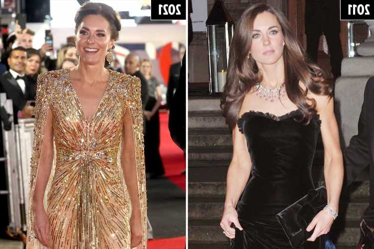 Kate Middleton's fashion journey – from shy wallflower to perfect princess