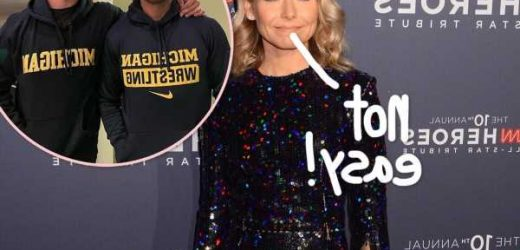 Kelly Ripa Says Dropping Her Youngest Son Joaquin Off At College Was A 'Brutally Painful' Experience