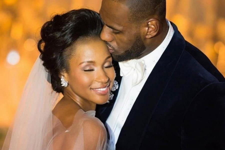LeBron James Shares Wedding Photos For The First Time As He And Savannah Celebrate Their Anniversary