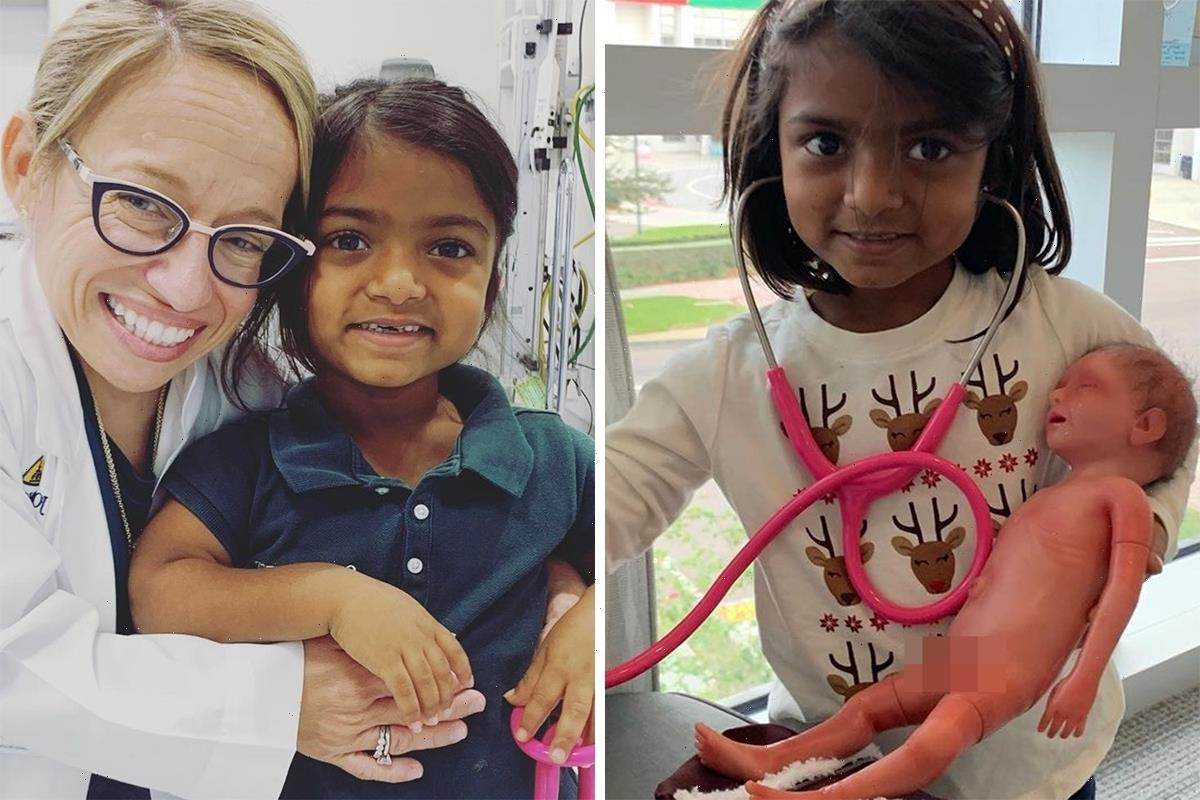 Little Couple's Dr Jen Arnold posts adorable photo of daughter Zoey, 9, playing doctor after hinting at new season