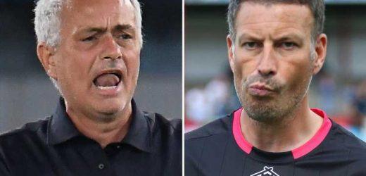Mark Clattenburg reveals moment he threw BOOT towards Jose Mourinho after huge bust-up while he was Man Utd boss