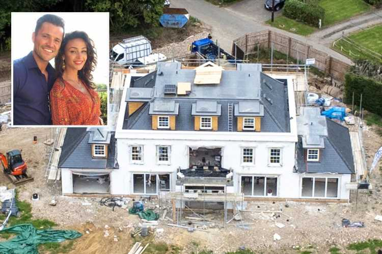 Mark Wright and Michelle Keegan's incredible £1.3m dream home takes shape as Essex mansion is revealed in new pictures