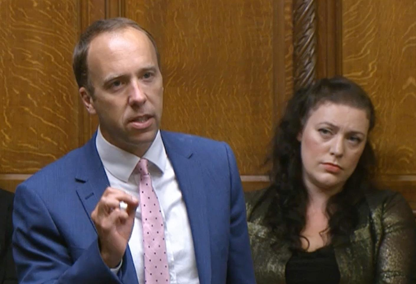 Matt Hancock jeered by MPs as he makes first Commons return since affair scandal