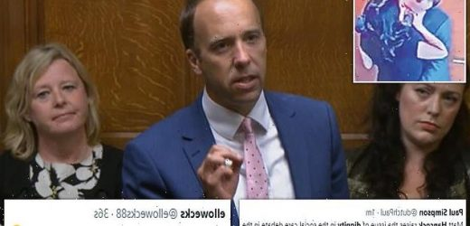 Matt Hancock sparks LAUGHTER from MPs while speaking in Commons