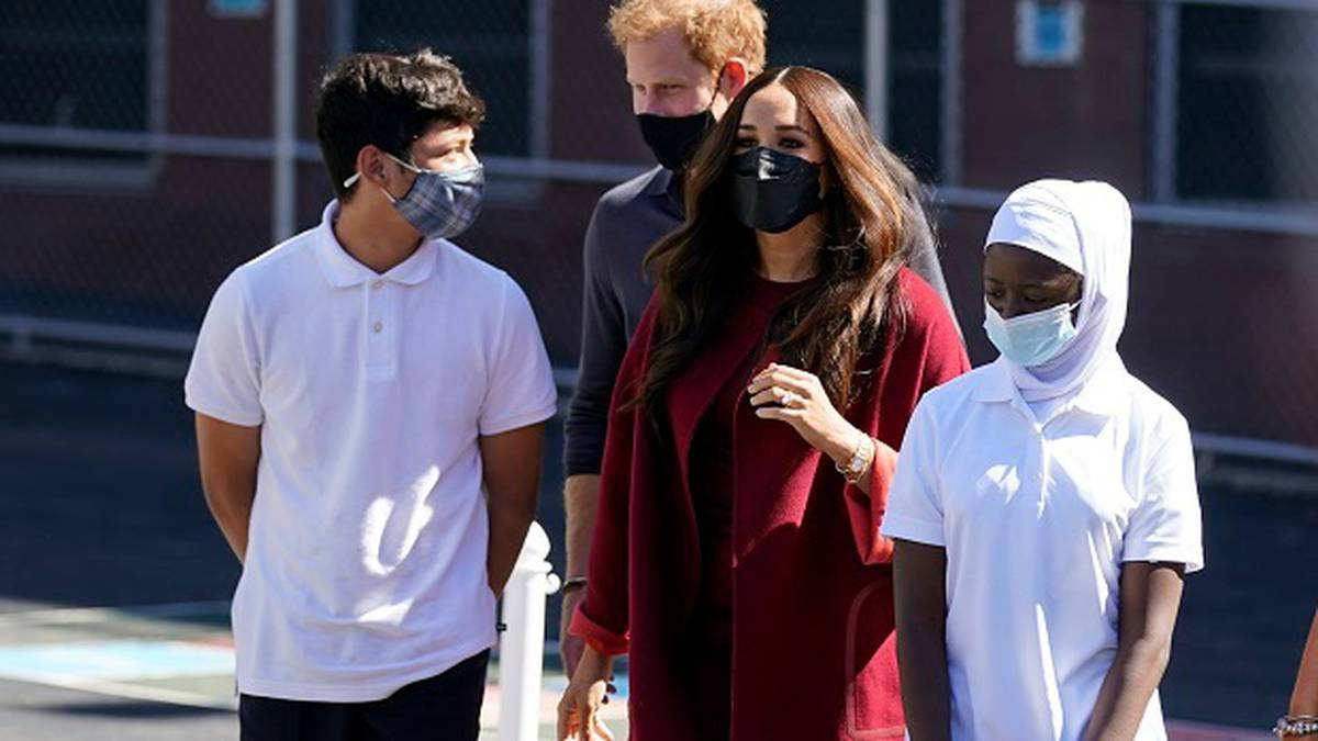 Meghan Markle's expensive outfit during disadvantaged school visit lashed