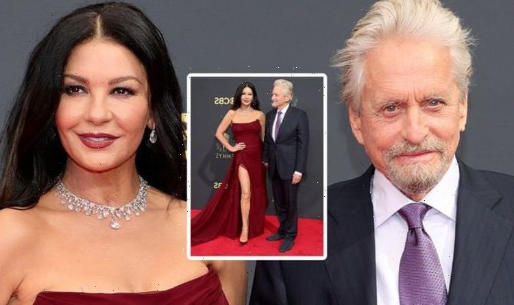 Michael Douglas and Catherine Zeta-Jones dubbed 'ultimate couple goals' at 2021 Emmys