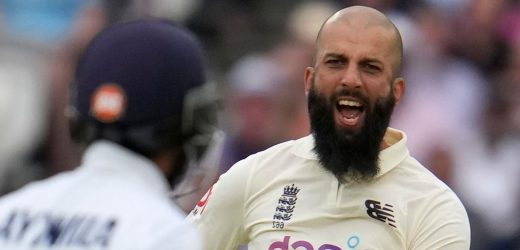 Moeen Ali named England vice-captain for fourth Test against India at The Kia Oval