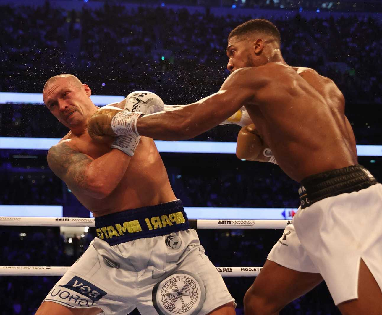 Oleksandr Usyk reveals how hard Anthony Joshua REALLY hits with power punches after being 'sent to Elon Musk for awhile'