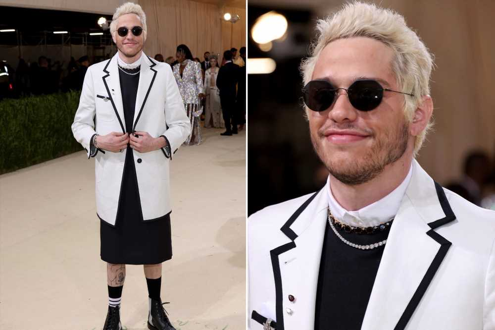 Pete Davidson wears 'slutty nun' dress to 2021 Met Gala red carpet