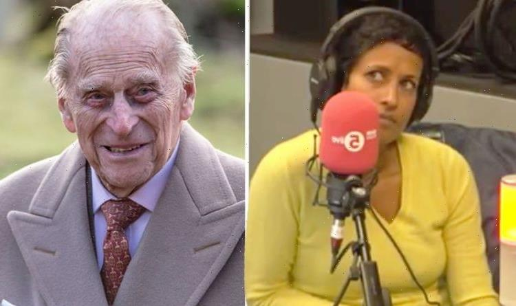 Prince Philip's messy prank 'wouldn't go down well in my house', says BBC's Naga Munchetty