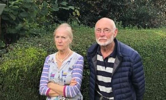 Retired RAF musician says next door garden is  making life is a misery