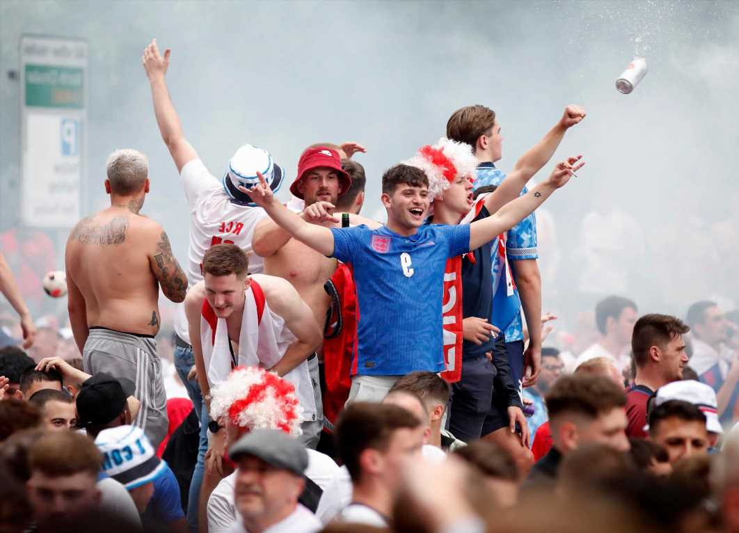 Revellers heading to football matches, concerts & work conferences could need vaccine passports, Whitehall source hints