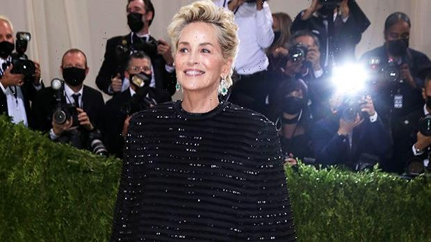 Sharon Stone, 63, Stuns In A Gorgeous Black Dress From Thom Browne For Met Gala — Photos