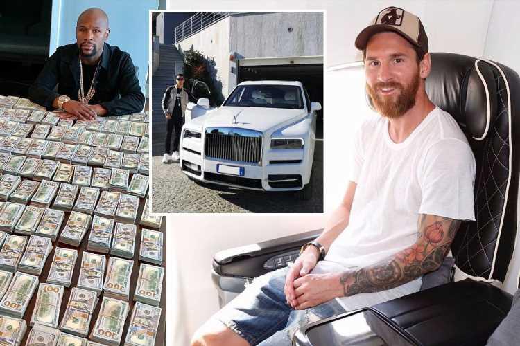 Sport's billionaires, including Lionel Messi, Cristiano Ronaldo, Floyd Mayweather, Tiger Woods and Michael Jordan – The Sun