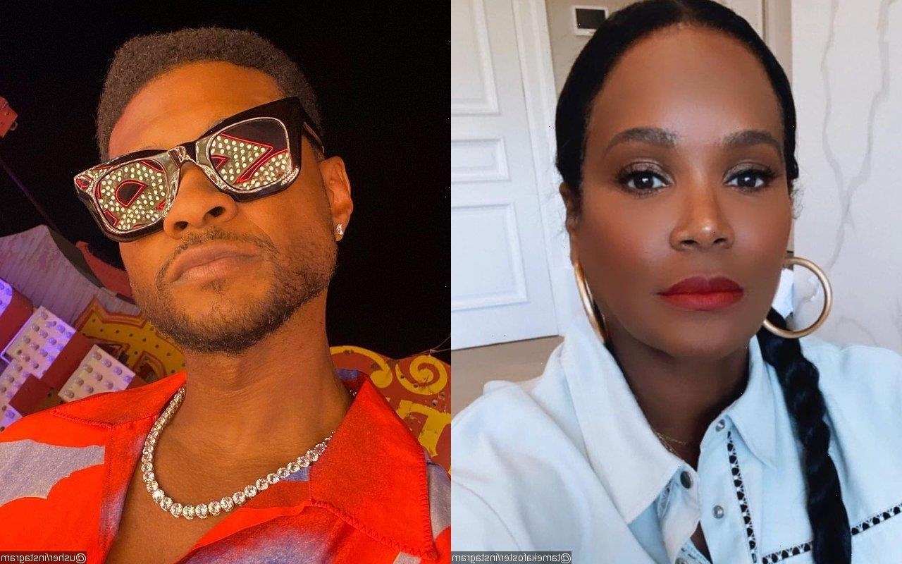 Tameka Foster Once Caught Usher With Another Woman