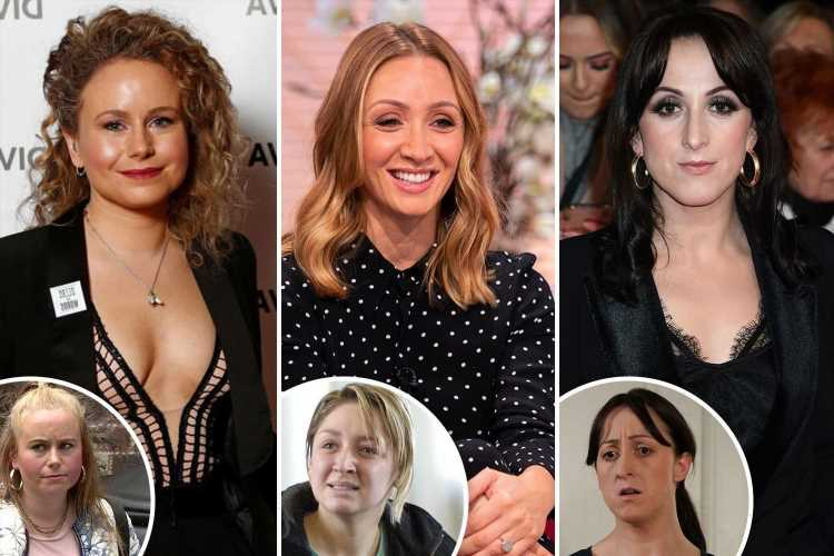 The glam soap stars who look a world away from their alter egos, from Natalie Cassidy to Lucy-Jo Hudson