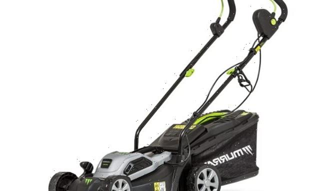 This £71 Electric Corded Lawn Mower is racking up five-star reviews
