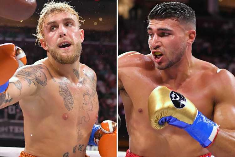 Tommy Fury vows to knock Jake Paul out next inside three minutes as he labels rival as 'massive p***y'