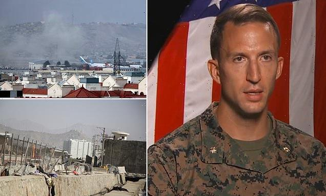 US Marine gives eyewitness account of Kabul airport explosion