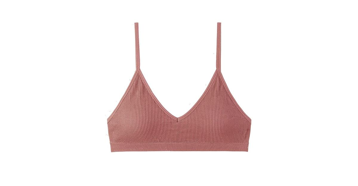 Wearing This Ribbed Bralette Might Be Comfier Than Going Braless