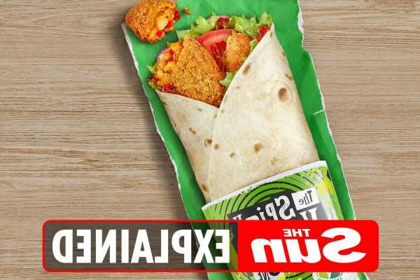 What is on the McDonalds vegetarian and vegan menu?