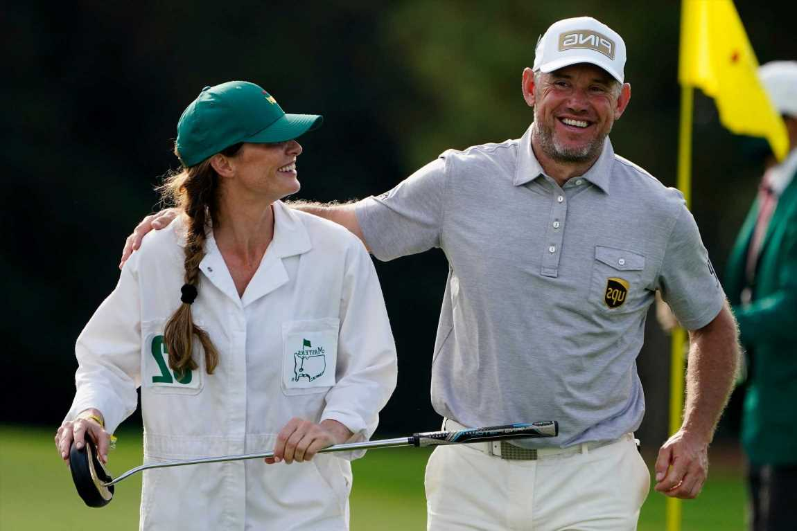 Who is Lee Westwood's wife Helen Storey, and why is she not his caddie at 2021 Ryder Cup? – The Sun