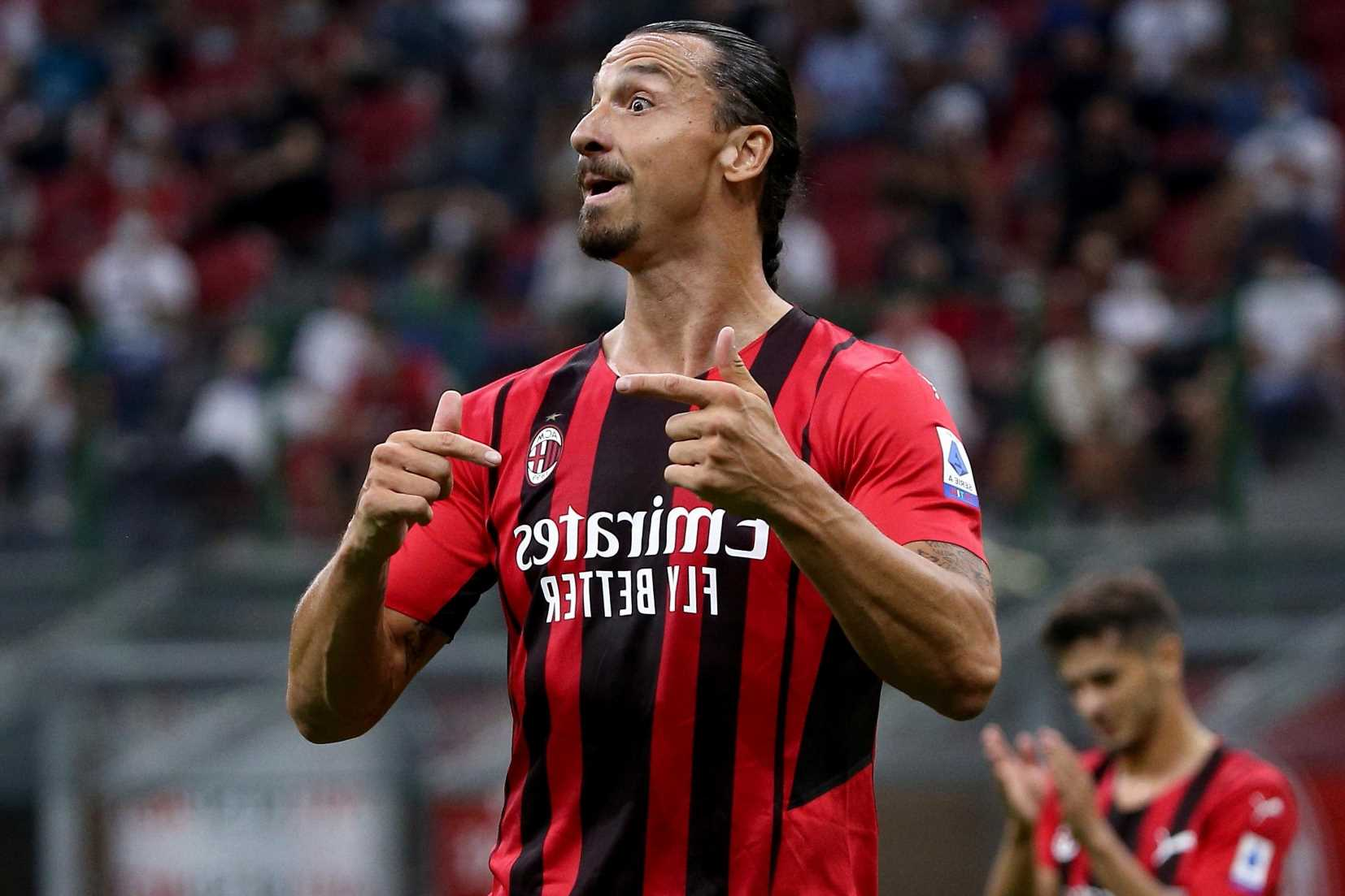 Zlatan Ibrahimovic 'ruled OUT of AC Milan's Champions League clash against Liverpool with Achilles injury'