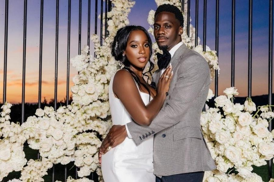 Ashley Blaine Featherson Of 'Dear White People' On Her 'Anointed' Wedding Day, Having Actress Aisha Hinds Officiate