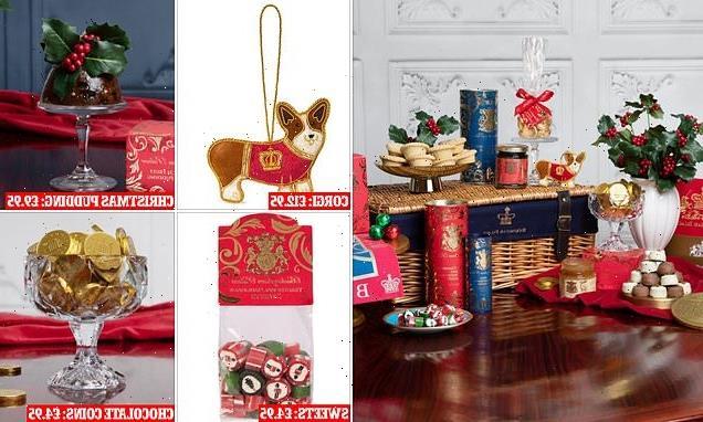 Buckingham Palace is selling a £200 Luxury Christmas hamper