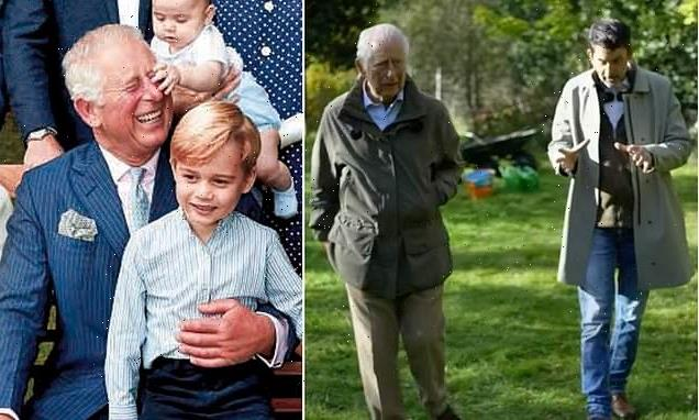 Charles reveals he named autumn garden at Balmoral after Prince George