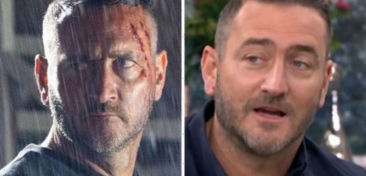 Coronation Street's Will Mellor hit in face by fan over storyline 'What's wrong with you!'