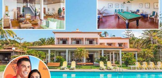Cristiano Ronaldo shared £3.5k-a-week fishing village home with Georgina Rodriguez and kids during coronavirus pandemic – The Sun