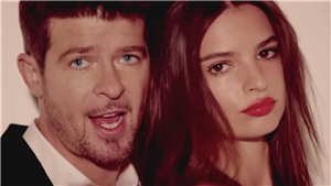 Emily Ratajkowski Says Robin Thicke Groped Her Bare Breasts on Set of 'Blurred Lines' Music Video