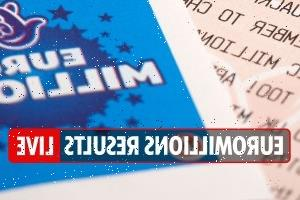 EuroMillions results LIVE: National Lottery numbers and Thunderball draw tonight, October 5, 2021