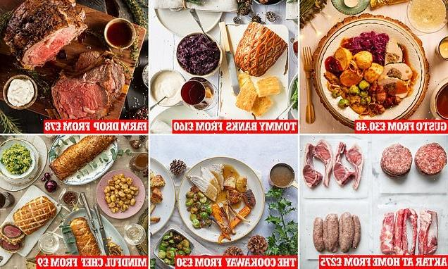 FEMAIL reveals the Christmas meal kits you can order