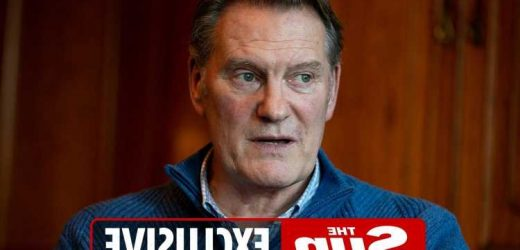 Glenn Hoddle reveals 'it was tough to come back' to BT Sport studio where he nearly died after birthday heart attack