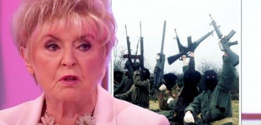Gloria Hunniford revealed she was on IRA 'death list' and had to be 'smuggled' out of BBC