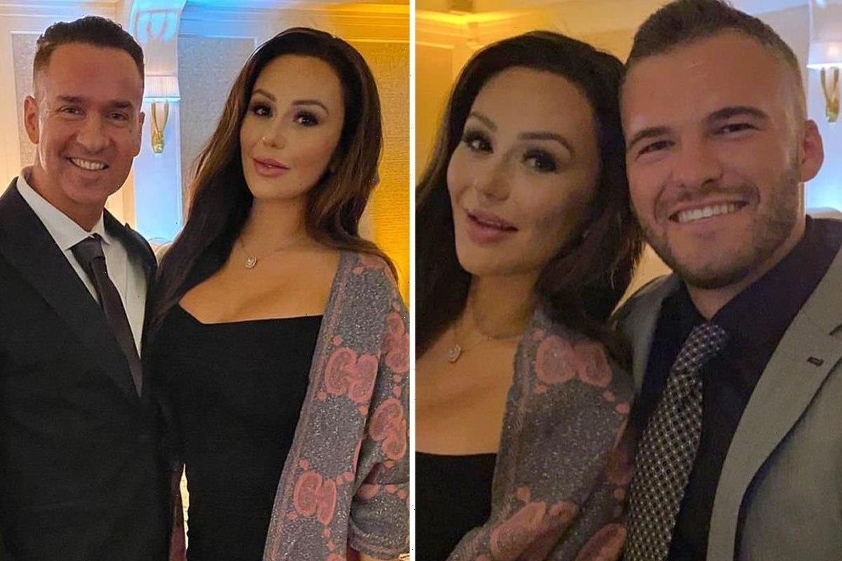 Jersey Shore fans shocked as Jenni 'JWOWW' Farley looks unrecognizable in glamorous make-UNDER for friend's wedding