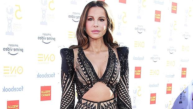 Kate Beckinsale, 48, Stuns In Mini Skirt & Lacy Stockings After Recovering From Injury On Film Set — Photo