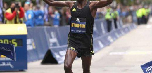 Kenya's Kipyogei, Kipruto win Boston Marathon
