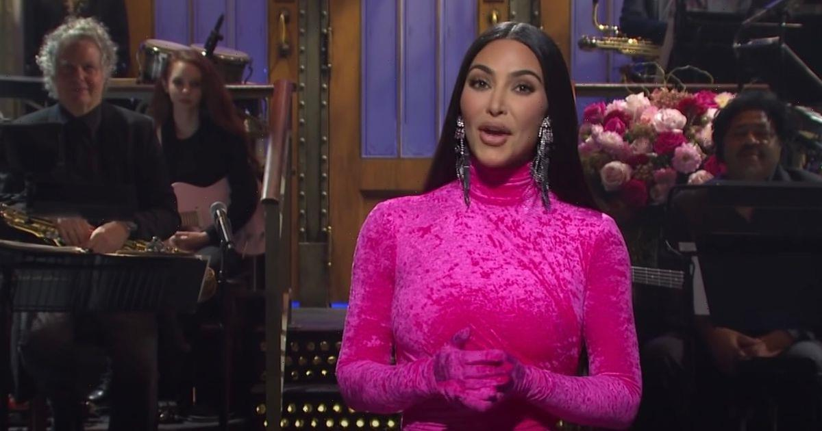 Kim Kardashian takes aim at Kanye West and shares reason for divorce as she hosts SNL