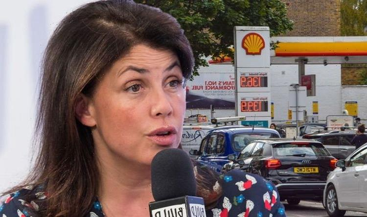 Kirstie Allsopp abandons car amid fuel shortage after telling panic buyers to 'get a grip'