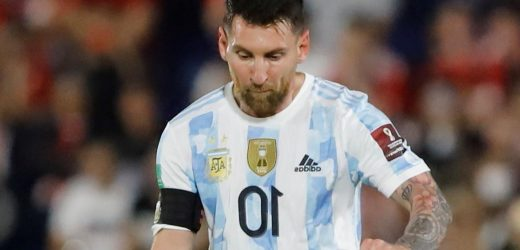 Lionel Messi injury blow as PSG striker is a doubt for Argentina's clash against Uruguay with knee problem